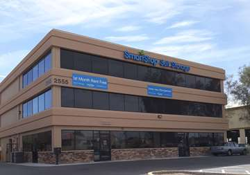 Front office at SmartStop Self Storage facility located at 2555 West Centennial Parkway, North Las Vegas Nevada