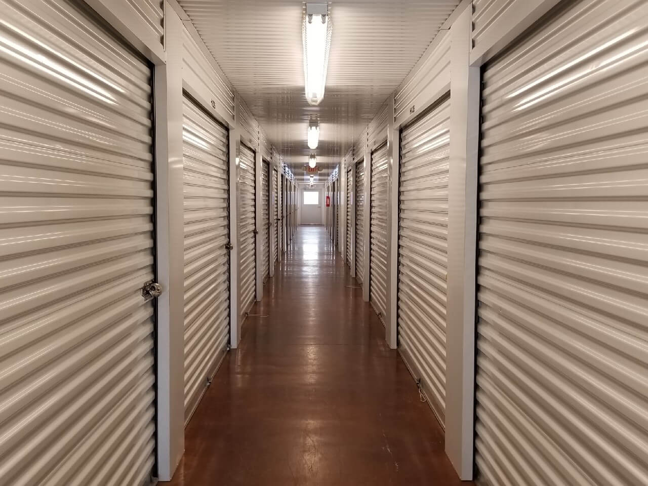 Inside of Smart Stop Self Storage facility at 3101 Texas Avenue South, College Station Texas
