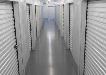 Inside view of storage units at SmartStop Self Storage facility at 23250 Westheimer Parkway, Katy Texas