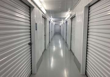 Inside view of storage units at SmartStop Self Storage location 27236 US-290, Cypress Texas