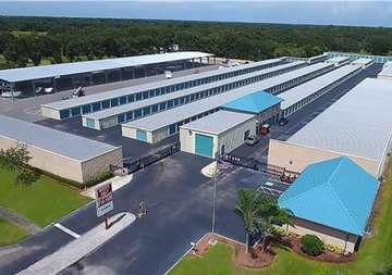 Aerial View of Self Storage Property in Plant City, FL