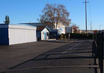 Self Storage Property Entrance in Chico, CA