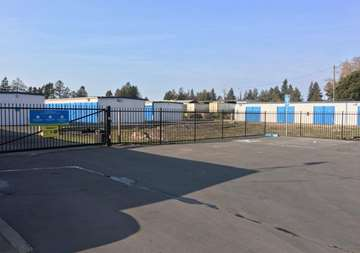 Self Storage Property Entrance in Santa Rosa, CA