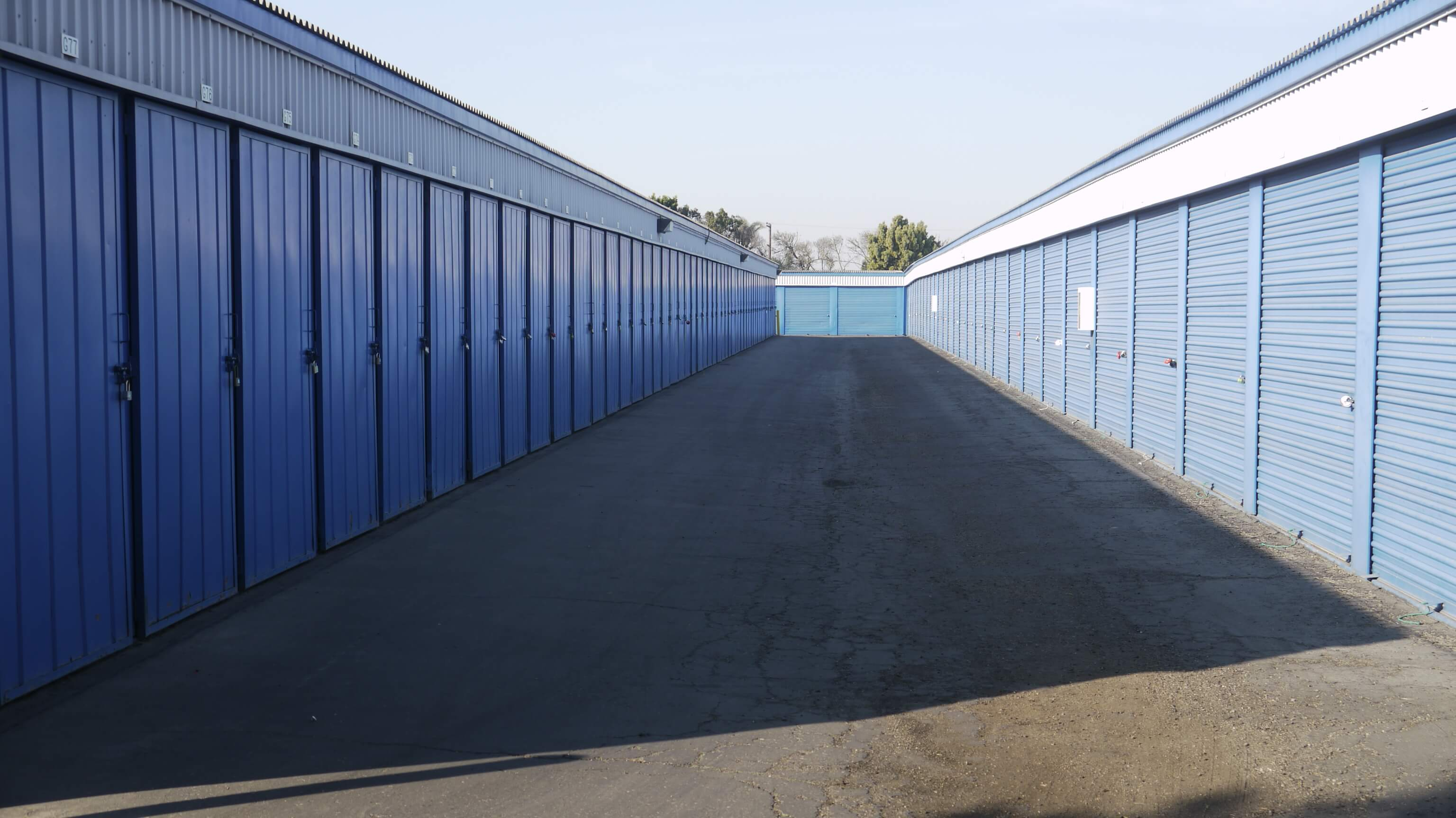 Self Storage Drive Up Units in Lompoc