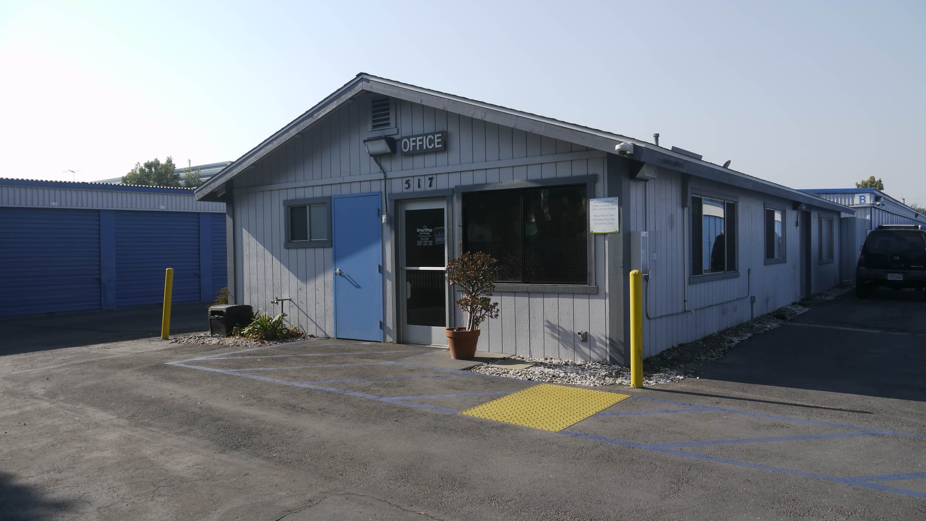 Front of Self Storage Property in Lompoc, CA