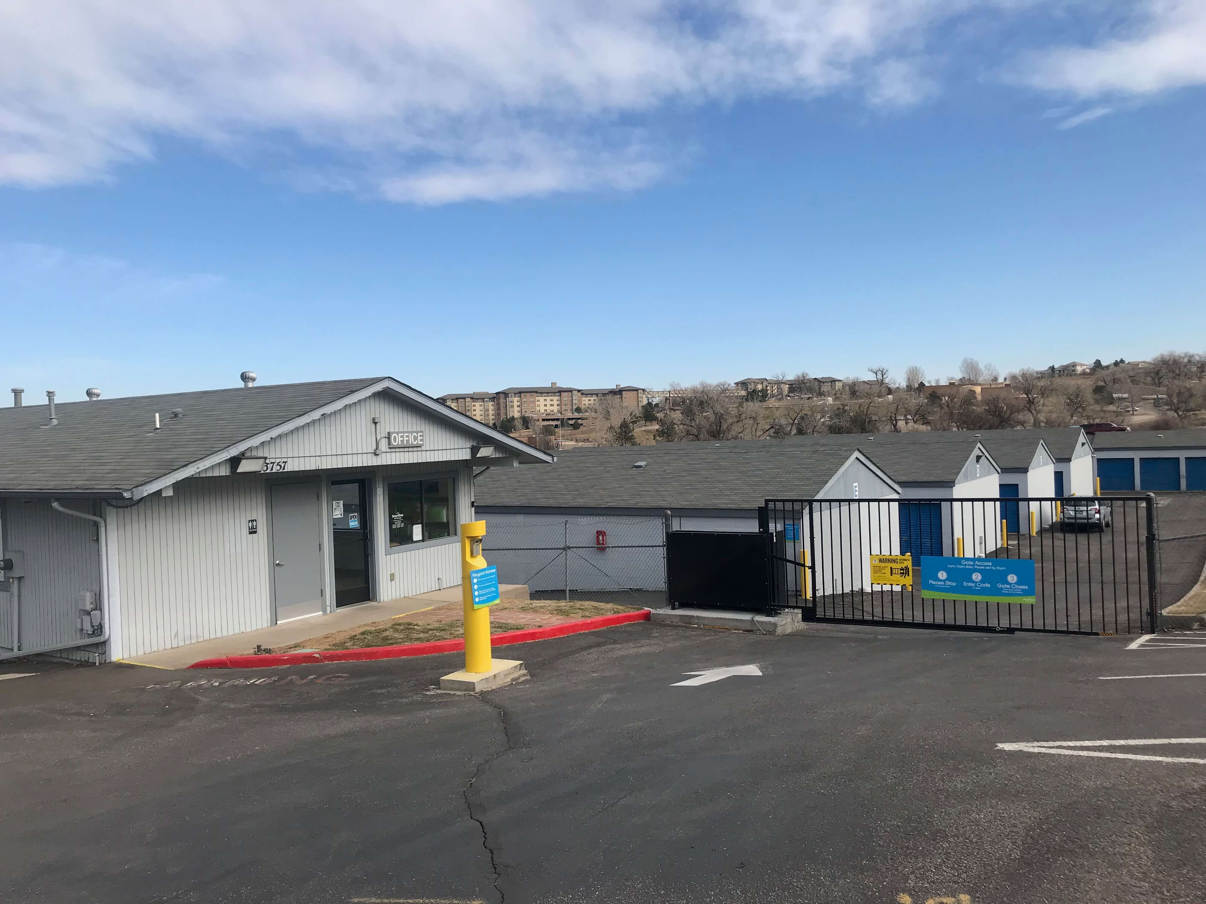 Self Storage Property View in Littleton, CO