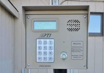 Keypad Access to Self Storage Units in Bloomingdale