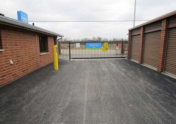 Gate Access to Storage Units in Crestwood