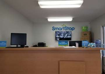 Front desk at SmartStop Self Storage facility located at 24623 Ryan Road, Warren Michigan