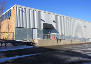 Outside entry into SmartStop Self Storage facility located at 480 South Service Road West, Oakville Ontario Canada