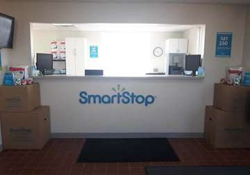 Front desk at SmartStop Self Storage facility located at 1840 Victoria Street, Washington Court House Ohio