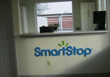 Inside of front office at SmartStop Self Storage facility located at 1840 Victoria Street, Washington Court House Ohio