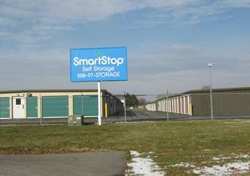 Outside view of SmartStop Self Storage facility located at 1840 Victoria Street, Washington Court House Ohio