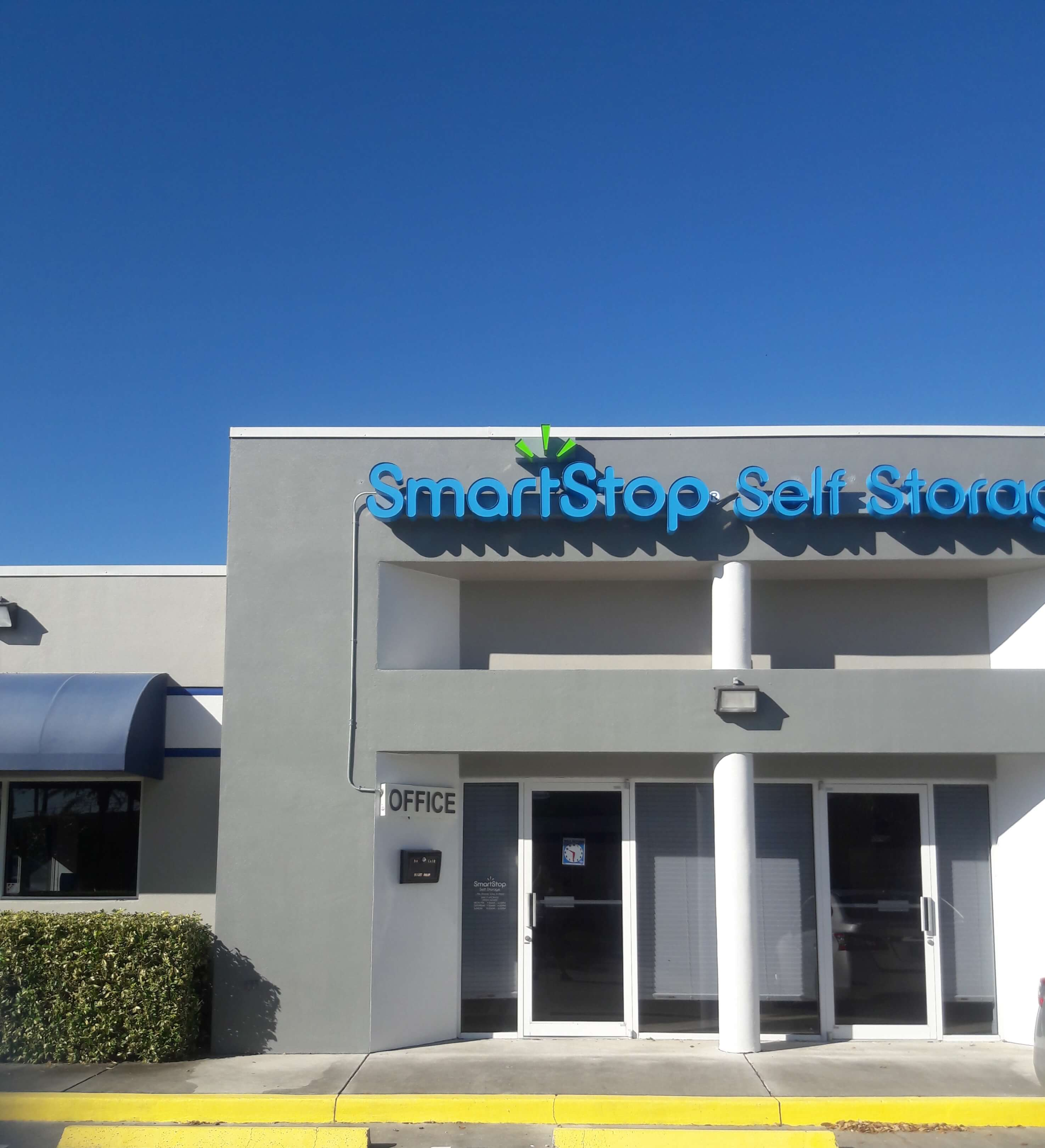 Front of Self Storage Property in Port St Lucie, FL