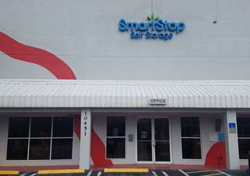 Front of Self Storage Property in Doral, FL