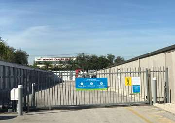 Gate Access to Storage Units in Delray Beach
