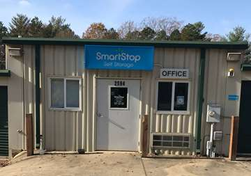 Front Office at SmartStop Self Storage facility located at 2594 Sweeten Creek Road, Asheville North Carolina