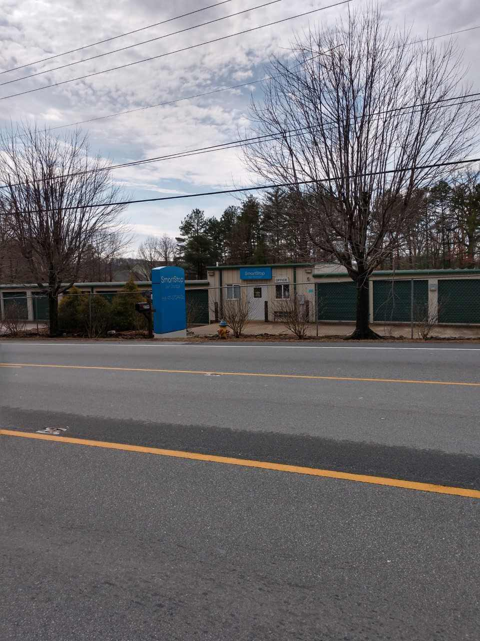 Street view of Smart Stop self storage facility located at 2594 Sweeten Creek Road, Asheville North Carolina