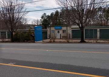 Street view of SmartStop Self Storage facility located at 2594 Sweeten Creek Road, Asheville North Carolina
