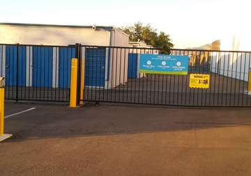 Gate Access to Storage Units in Riverside
