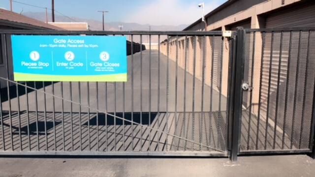 Gate Access to Storage Units in Azusa