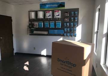 Packaging and moving supplies available for purchase at Smart Stop self storage facility located at 75 Highland Center Blvd, Asheville North Carolina