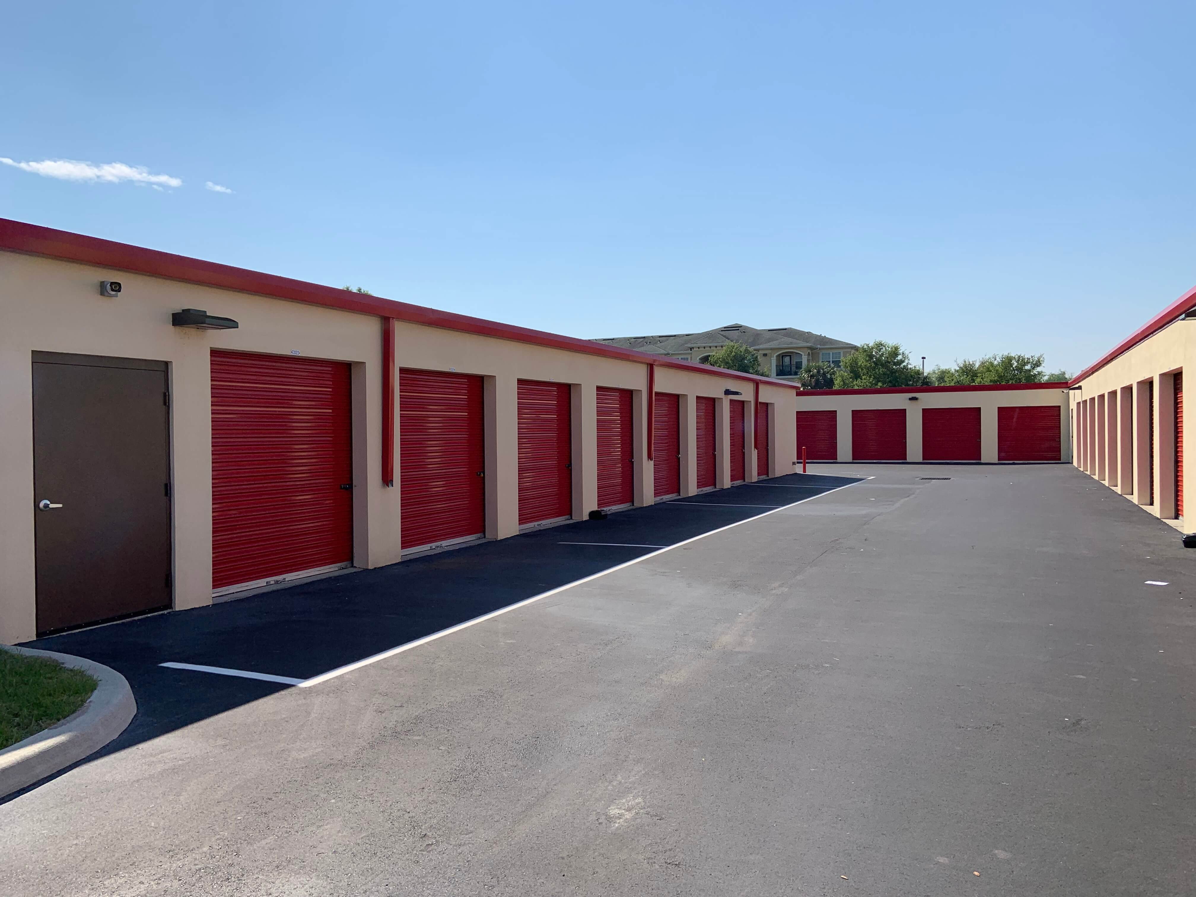 Self Storage Drive Up Units in Riverview