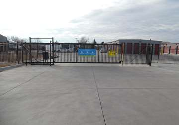 Gate Access to Storage Units in Aurora