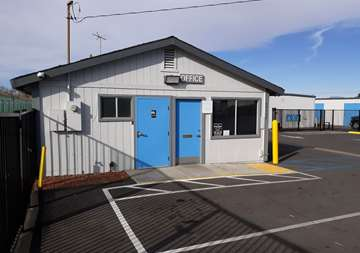 Front of Self Storage Property in Riverside, CA