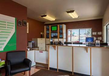 Interior of front office at SmartStop Self Storage facility in Puyallup Washington