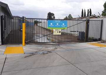 Gate Access to Storage Units in Stockton