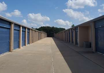 Drive up self storage near Cy-Fair and Jersey Village, TX