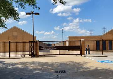 Storage security gate access at 10830 West Road Houston, TX