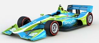 rendering of SmartStop® Self Storage and Sage Karam to Join Carlin in Toronto in No. 31 Entry indy car