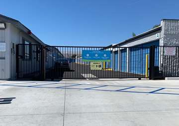 Self Storage Security Gated Entrance in Huntington Beach, CA