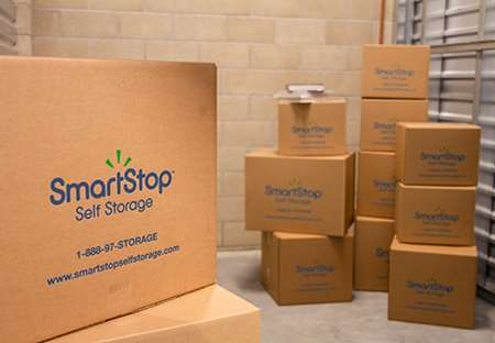 SmartStop Self Storage - Charlottesville - Boxes