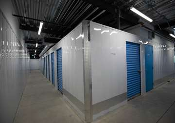 Inside Storage Units at SmartStop Self Storage facility located at 515 Centennial Road North, Scarborough Ontario Canada