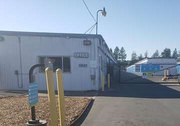 Front of Self Storage Property in Santa Rosa, CA