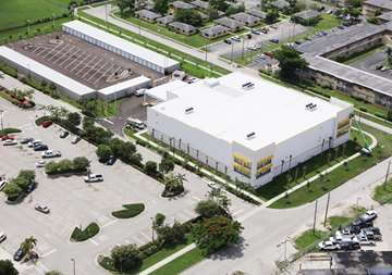 Over view of 235 NE 12th Ave Homestead, FL 33030 - SmartStop Self Storage