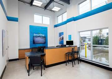 Front office at SmartStop Self Storage facility located at 515 Centennial Road North, Scarborough Ontario Canada