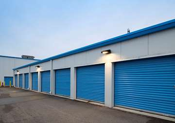 Outdoor Units at SmartStop Self Storage facility located at 515 Centennial Road North, Scarborough Ontario Canada