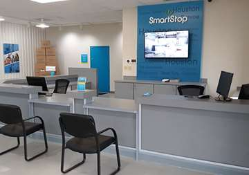 Front Office at SmartStop Self Storage in Conroe, TX