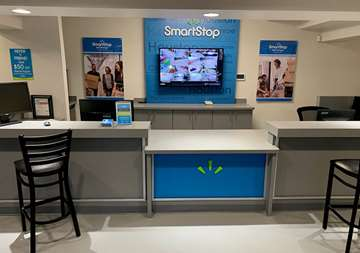 Inside view of SmartStop Self Storage office at 27236 US-290, Cypress Texas